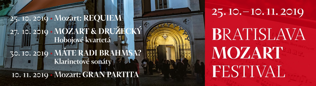 Bratislava Mozart Festival 201