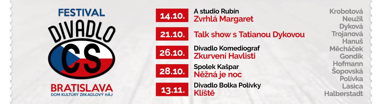 Festival Divadlo CS