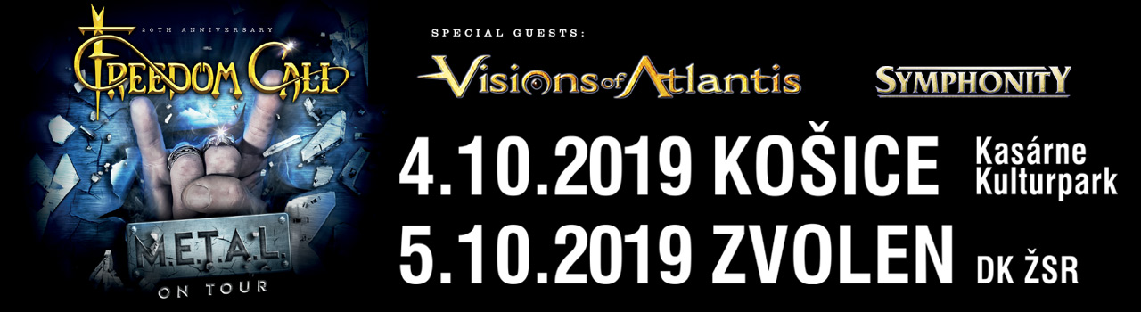 FREEDOM CALL, VISIONS OF ATLAN