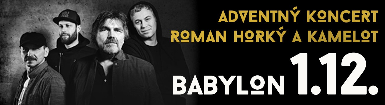 Adventný koncert ROMAN HORKÝ a