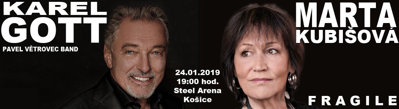 KAREL GOTT & MARTA KUBIŠOVÁ