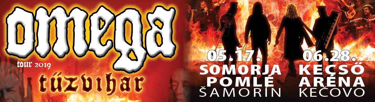 OMEGA / TOUR 2019 TŰZVIHAR