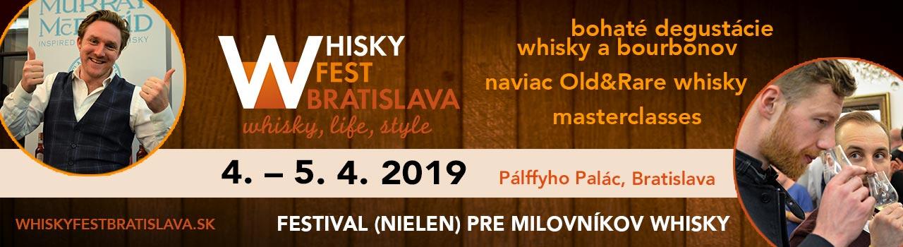WHISKY FEST BRATISLAVA - 2019