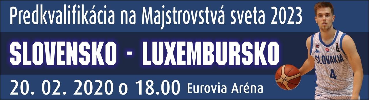 Slovensko - Luxembursko na MS