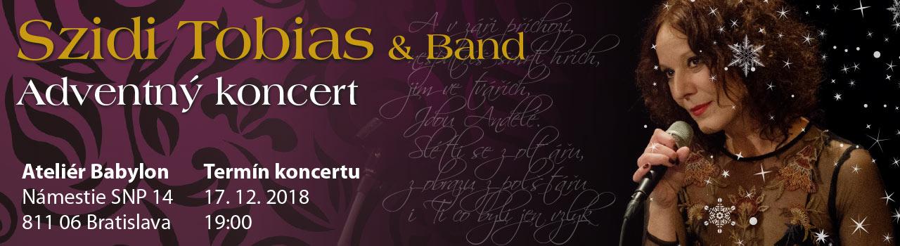 Szidi Tobias & Band - Adventný