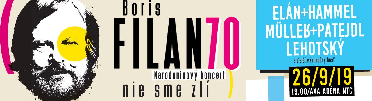 BORIS FILAN 70 / Narodeninový