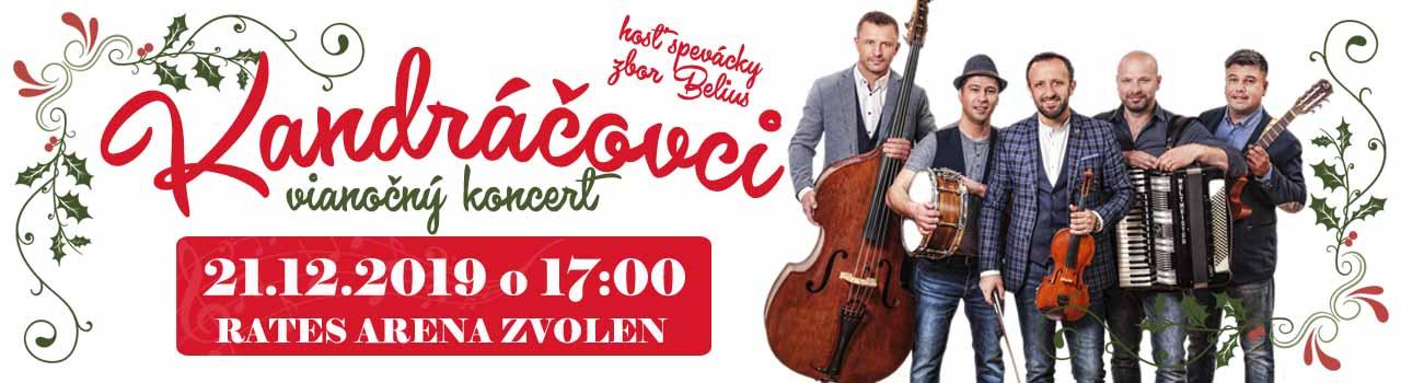 KANDRÁČOVCI - Vianočný koncert