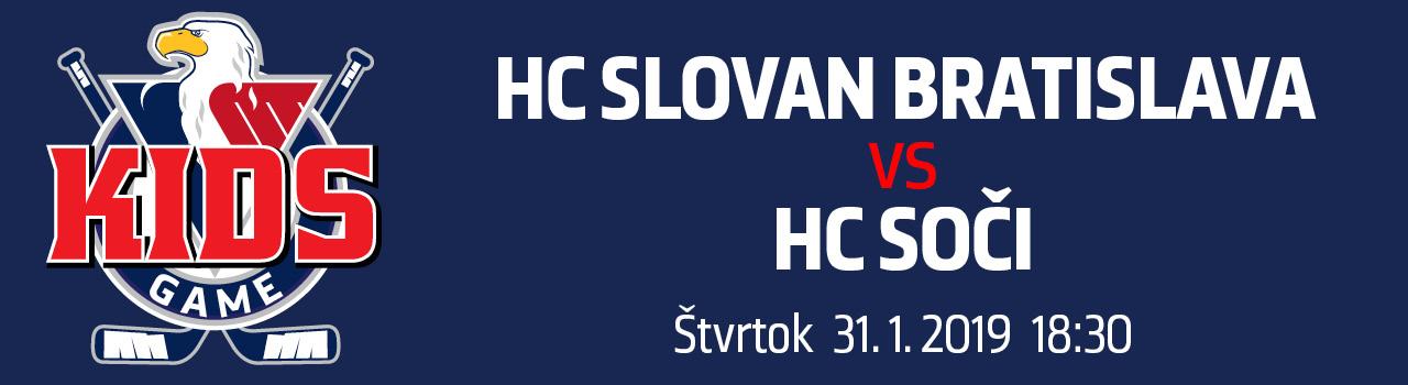 HC SLOVAN Bratislava - HC Soči