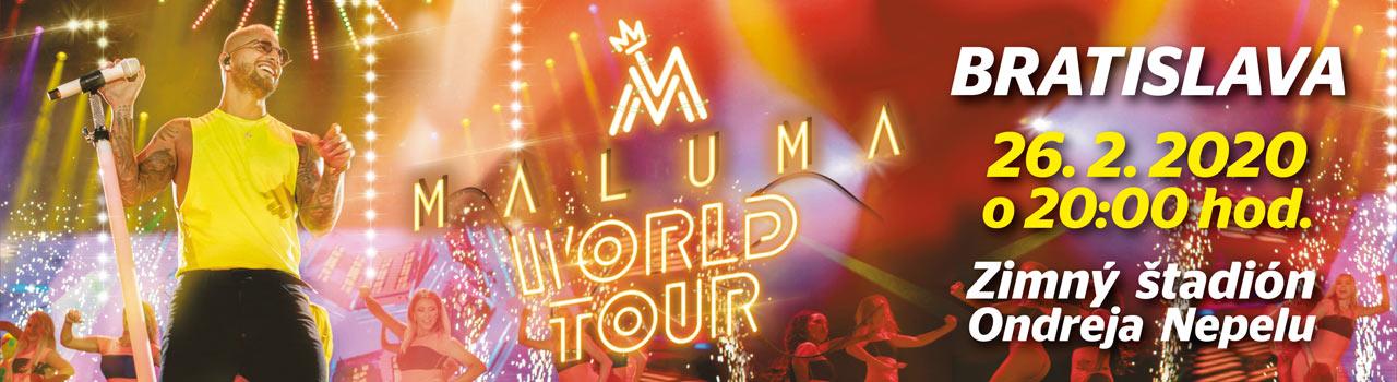 MALUMA WORLD TOUR