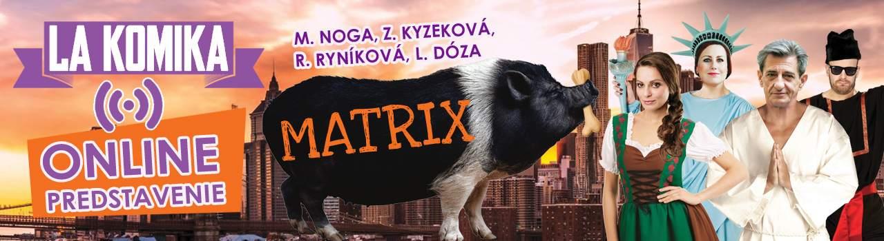 MATRIX Online predstavenie