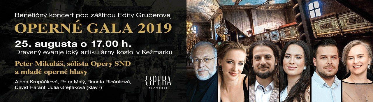 Operné gala v Kežmarku 2019